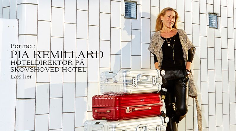 Pia Remillard – Hoteldirektør på Skovshoved Hotel