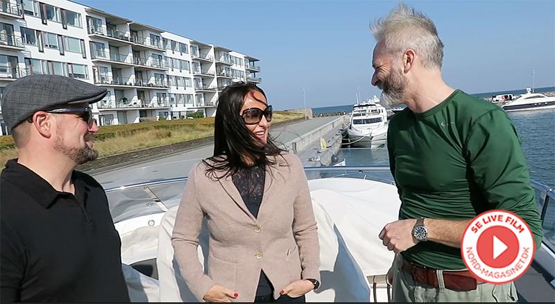 Se video i bunden af artiklen: NORD Magasinet på photoshoot i Tuborg Havn