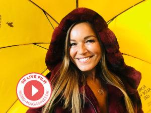 Se video: Smilende Martina S. Banach til NORD photoshoot