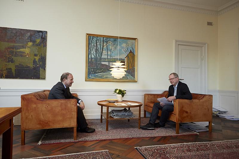 Se film: NORD Magasinet møder Hans Toft