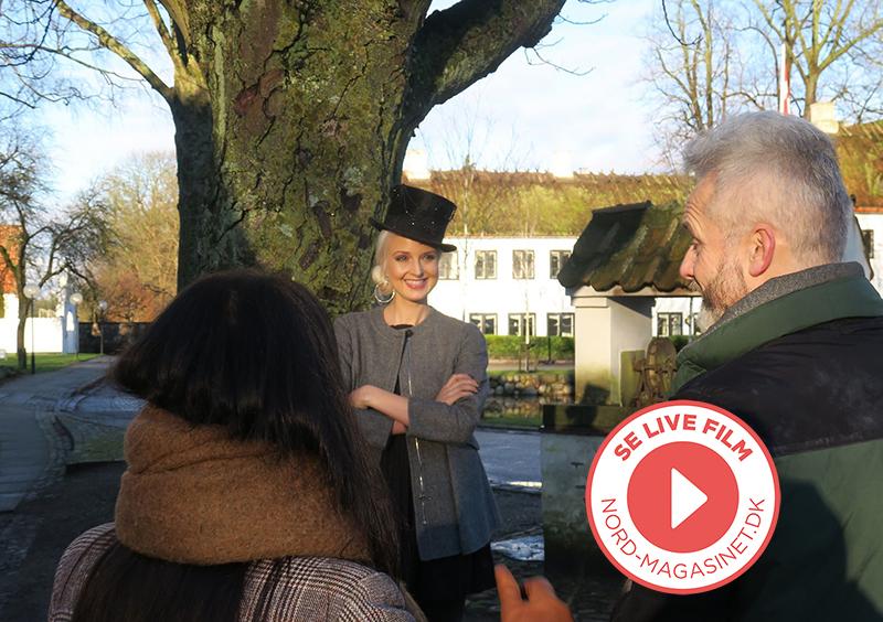 NORD NEWS • Se film: Mai Manniche på photoshoot med NORD