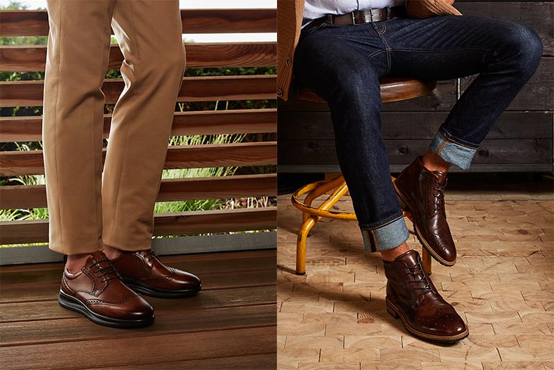 ECCO nyfortolker Brogue-skoen