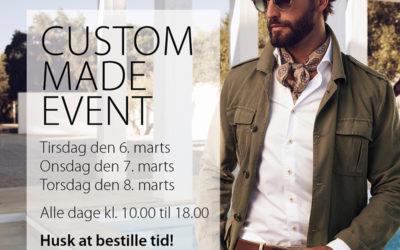 NORD NEWS • Kom til Custom Made Event hos Stenströms