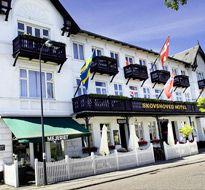 Skovshoved Hotel set fra gaden