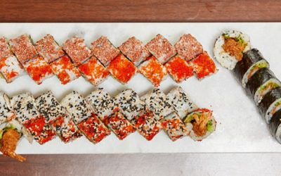 Watami's sushi med kant