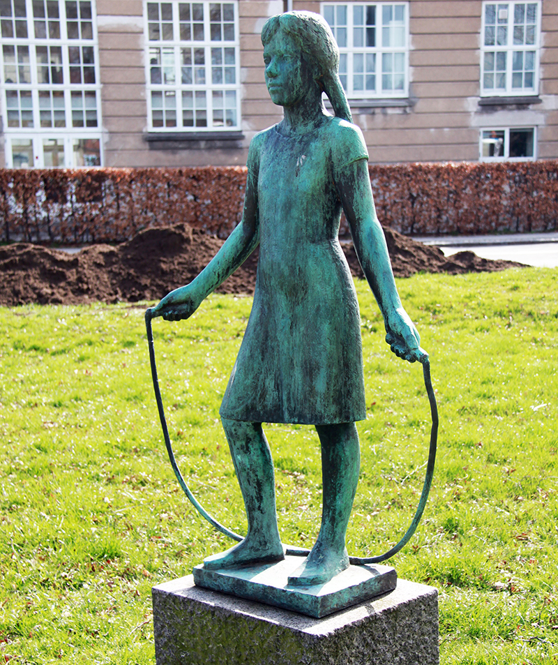 Skulptur NORD Magasinet