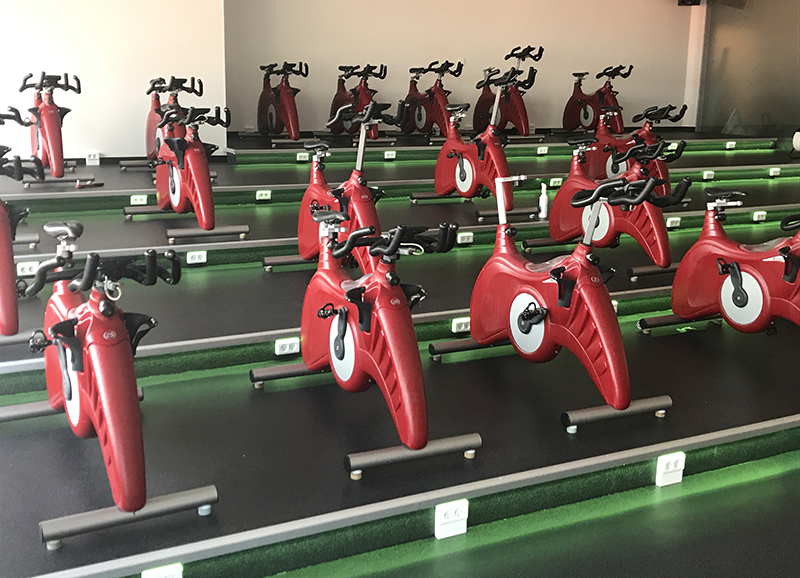 Well-come Fitness & Spa i Waterfront opgraderer sin cykelsal