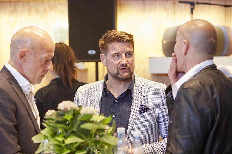 Rasmus Vejbæk-Zerr fra Rotunden NORD Magasinet Event