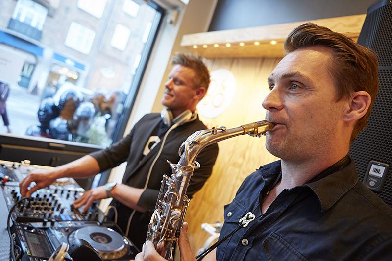 DJ Hannibal og saxofonist Michael Rune til NORD Magasinet Event