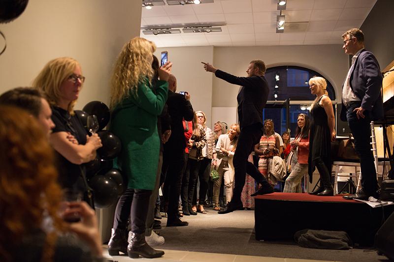 Entertainer Mikkel R Karlsen til NORD Magasinet Event