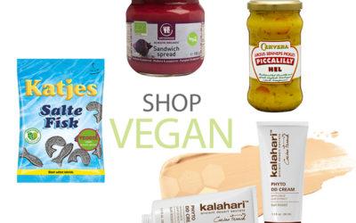 Shop vegan – Søren Bregendal anbefaler