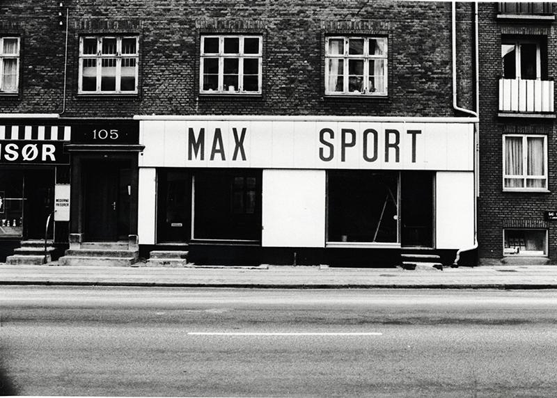 Sportsbutikker i nord området – dengang og nu