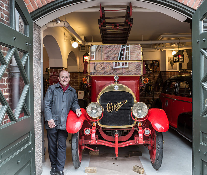 Rundt i Gentofte med borgmesteren – En ægte gammel brandstation
