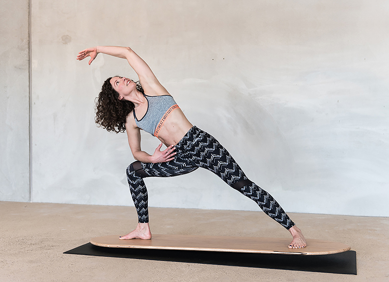 Fra Vand til Land – Yogaboardet er nu landet i Danmark