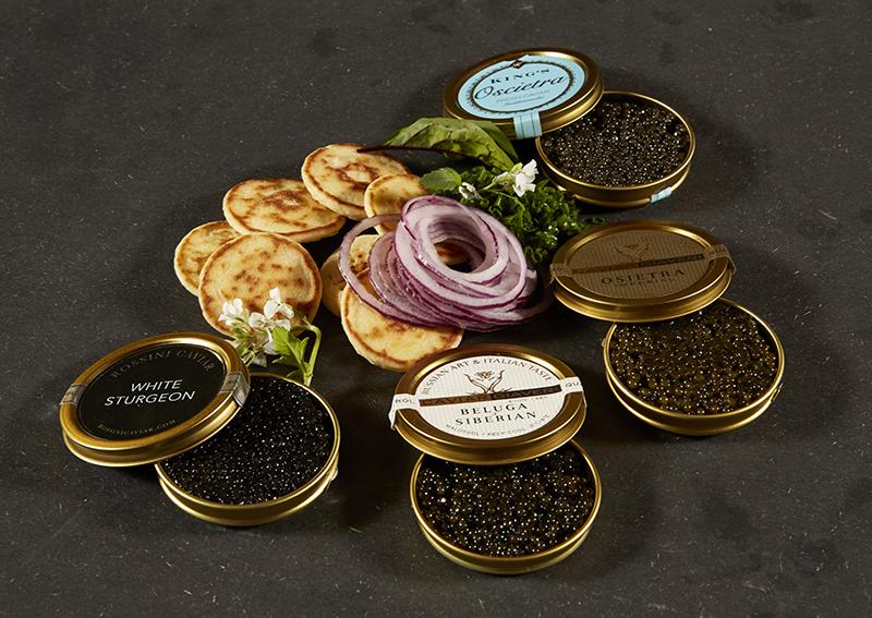 Sommer og kaviar på Address