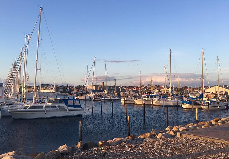 Hundested – fremsynet havneby med kunstnerisk profil