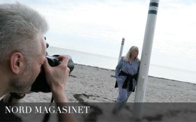 NORD NEWS • Photoshoot med Bellevue Teatrets direktør - Pia Jette
