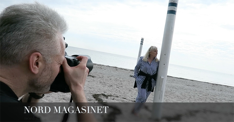NORD NEWS • Photoshoot med Bellevue Teatrets direktør – Pia Jette
