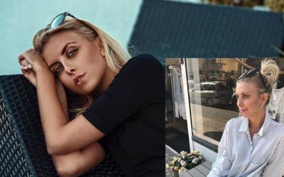 Modellen &  Bloggeren Michaela Theibel på sommershopping i NORDs butikker