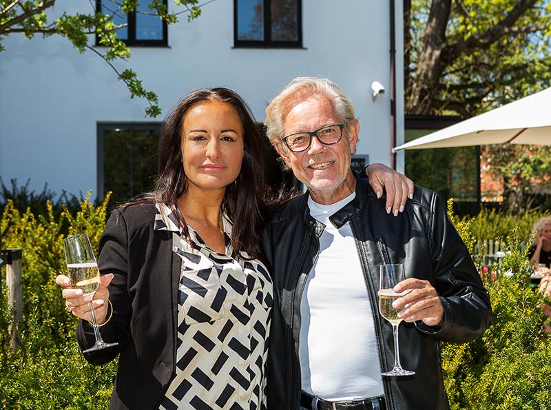 Mardahl & Linder på frokosttur i lokalområdet