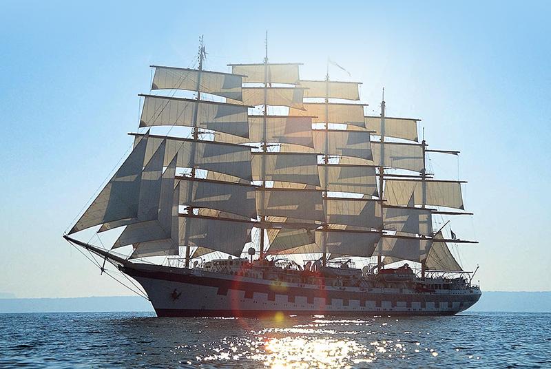 Verdens største sejlskib