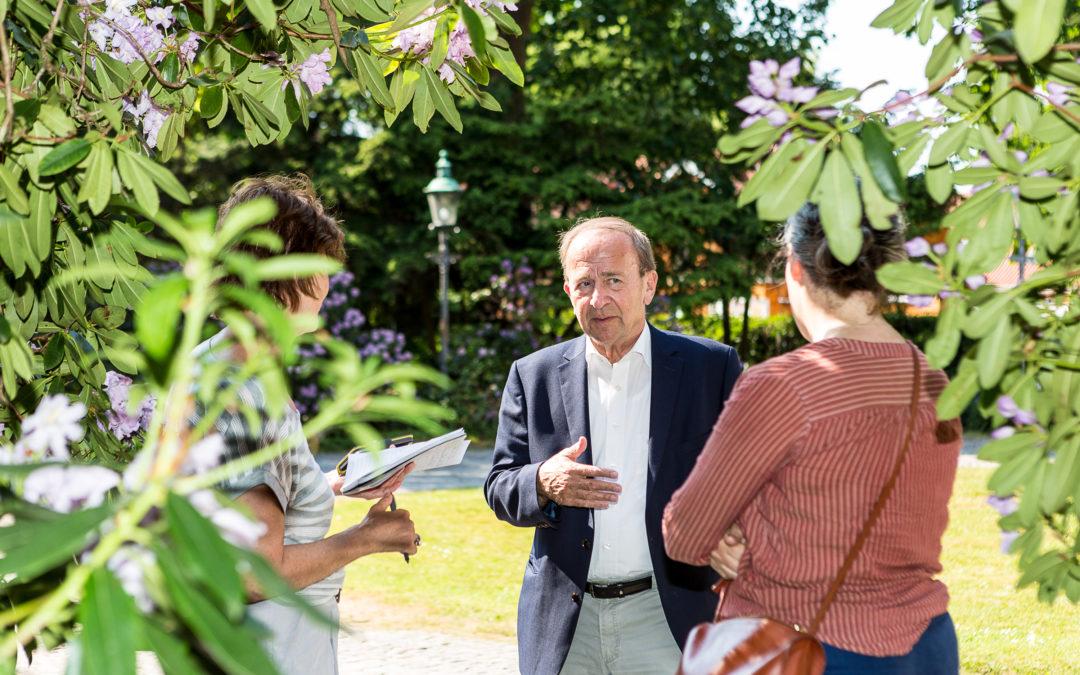 Rundt i kommunen med Borgmesteren – Øregaard Park, en smuk oase