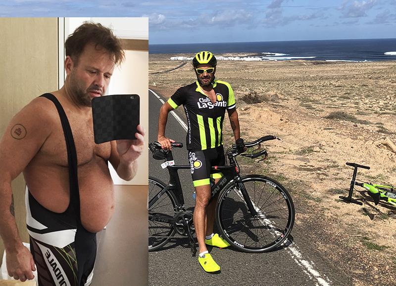 """Dennis Knudsen er Ironman – """"Alle kan ændre deres liv"""""""