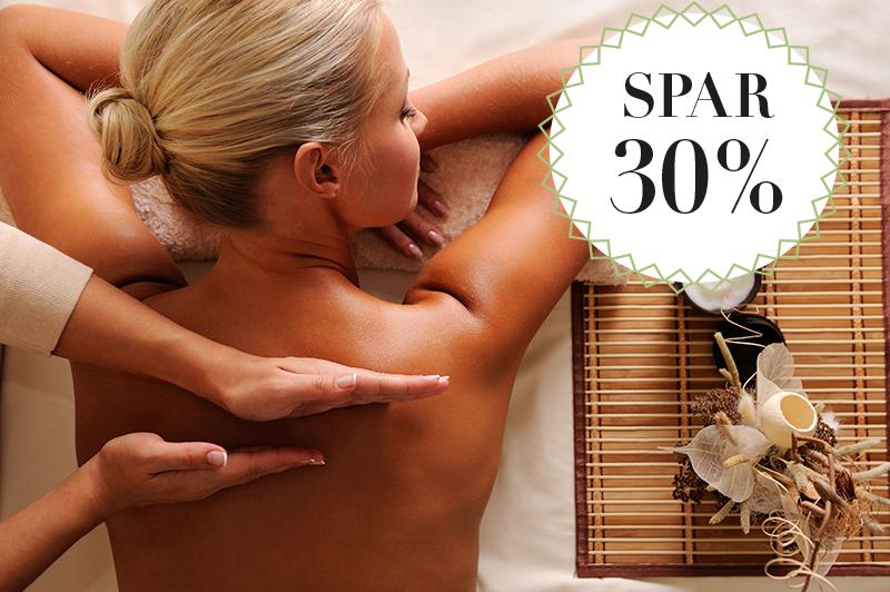 Thaimassage i ny klinik / Spar 30%
