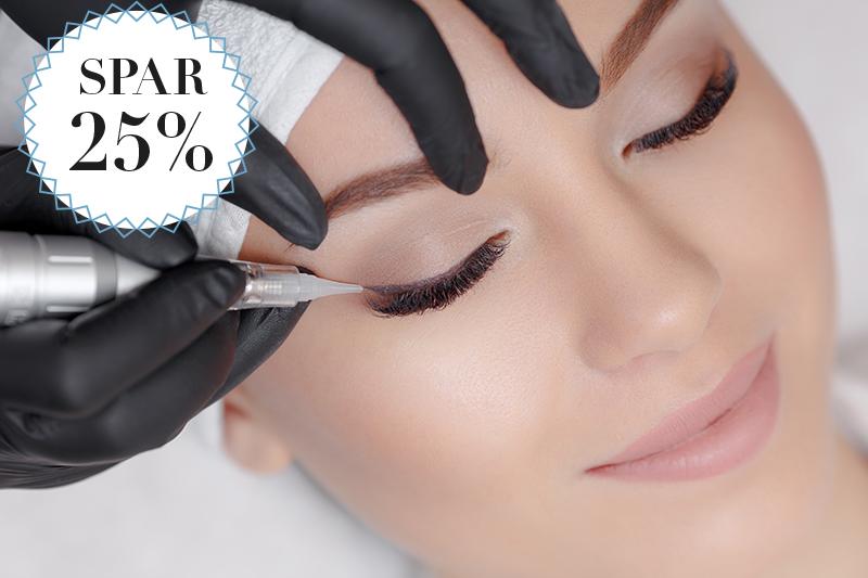 Smuk hud og intense øjne / Spar 25%