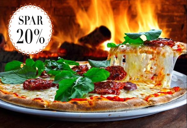 Stenovnspizzaer / Spar 20%