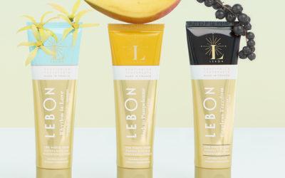 Nu kan du få yderligere tre eksklusive, veganske og hvidgørende tandpastaer fra LEBON hos AnaBé