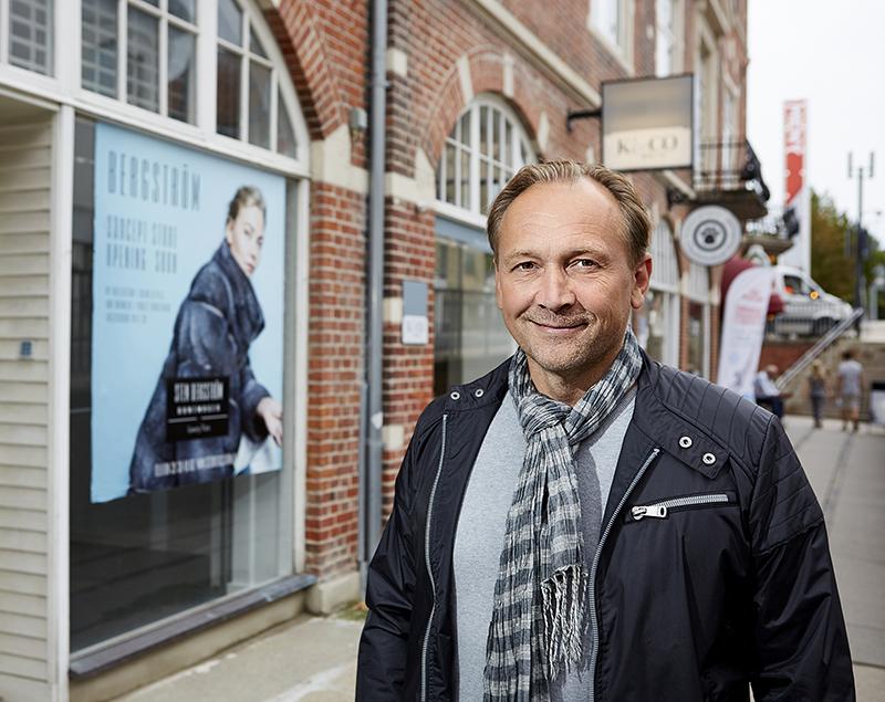 Bergström ny concept-store åbner til september