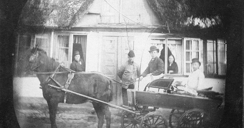 Butiksliv i Gentofte – Julesul og slagtere i Gentofte