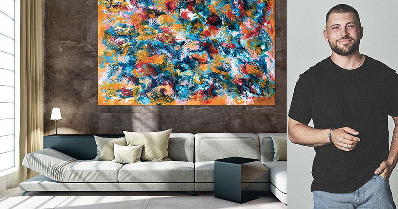 Martin Brachér – Kunstmaler på en mission