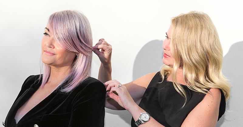 Make-over hos Monroe – Fedt pink spræl