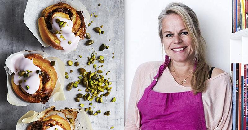 Camilla Lawes laver snegle med kokos og mælke chokolade
