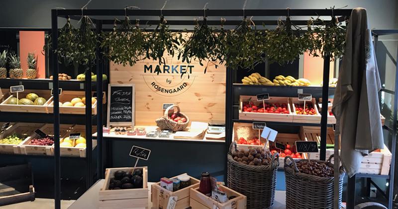 Frisk frugt og grønt hos Market by Rosengaard