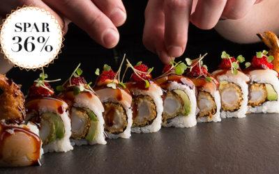 Sushi – med helt ny vinkel / Spar 36%