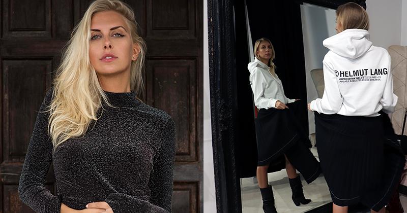 Modellen & Bloggeren i NORDs butikker Michaela Theibel