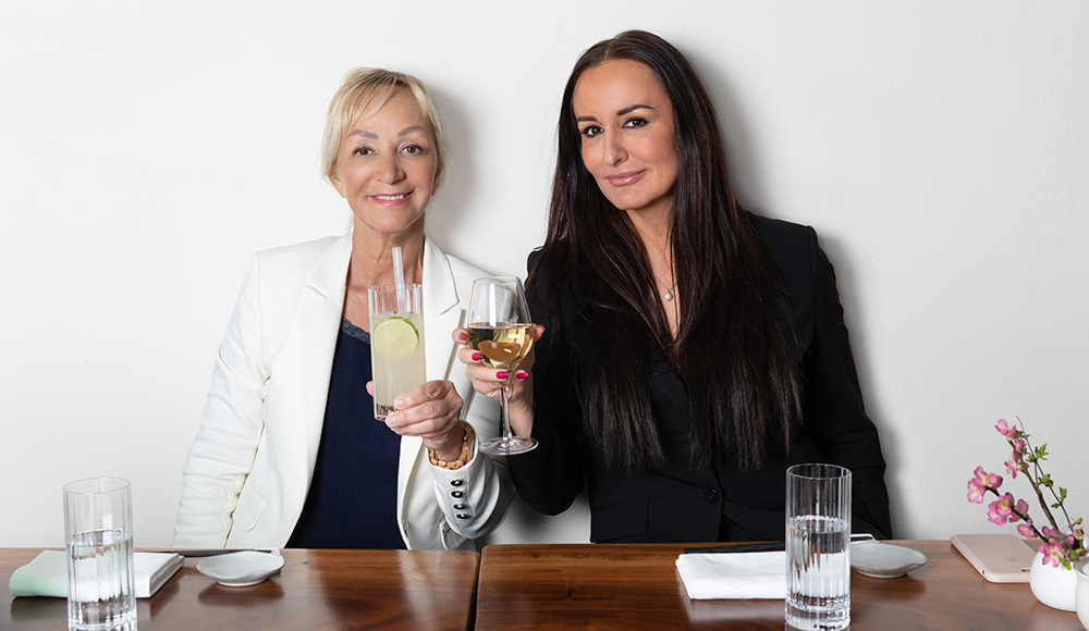Mardahl på frokosttur med Charlotte Bircow Næss-Schmidt