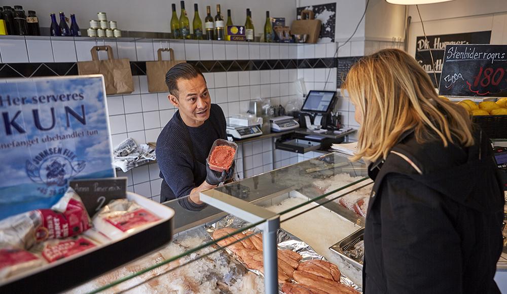 Fisk & sushi fra en førsteklasses ekspert
