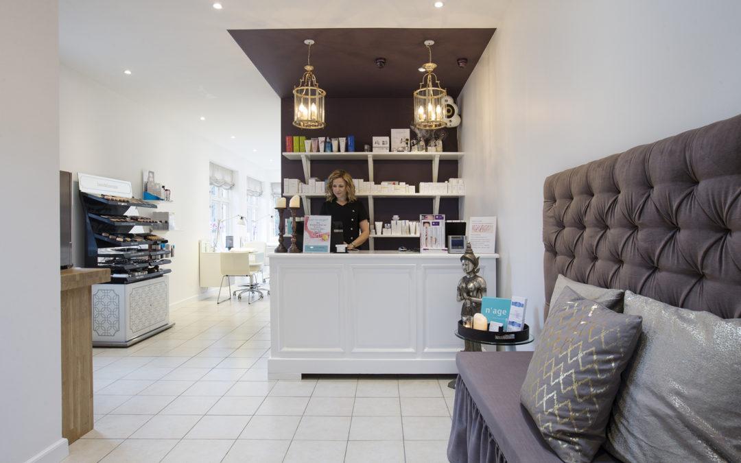 Klassisk skønhedshus og kosmetisk klinik