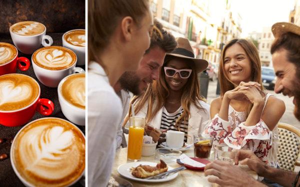 Kaffesteder i Nordsjælland