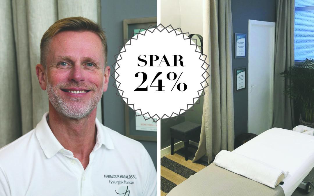 SPAR 24% / Fysiurgisk massage i særklasse