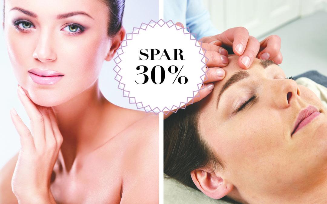 SPAR 30% / naturligt ansigtsløft