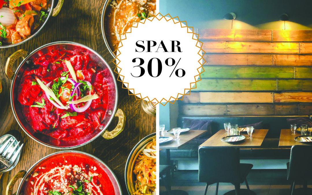 SPAR 30% / Smagfuld indisk takeaway