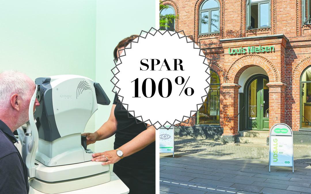 SPAR 100% / GRATIS synstest med sundhedstjek