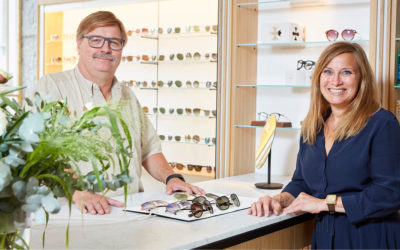 Solbriller  fra Hellerups nyeste og flotte optikerforretning