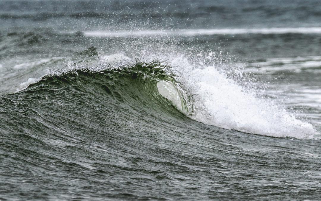 Surfer-DNA på en  perlesnor