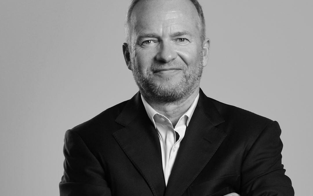 Portræt af Lars Tvede